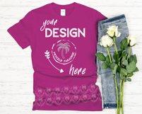 Gildan 64000 Mockup Bundle - Gildan Softstyle T-shirts Product Image 3