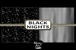 Black Nights - 10 Digital Papers/Backgrounds Product Image 6