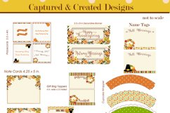 Thanksgiving & Fall Decorations DIY Printable Party Pack Product Image 5