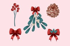 Christmas Flower Clip Art Product Image 2