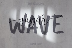Sugar Wave Font Duo Product Image 1