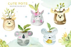 Cute Pots Watercolor Set Product Image 3