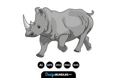 Rhino Clipart Product Image 1