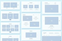 Collector Wireframe Web Kit Product Image 6