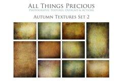 10 Fine Art AUTUMN Textures SET 2 Product Image 1