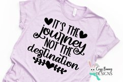 It's the Journey Not the Destination SVG - Inspirational SVG Product Image 4