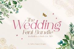The Wedding Font Bundle Product Image 1