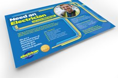 Electrician Flyer Template Product Image 4