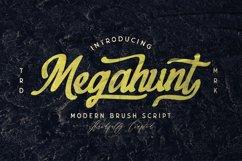 Megahunt - Brush Script Font Product Image 1