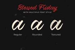 Blessed Friday Script Typeface Product Image 2