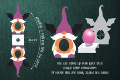 Halloween Gnome Egg Holder Template SVG Product Image 2