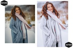 10 Snowy Dream Photoshop Actions And ACR Presets, Ps Winter Product Image 4