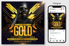 Gold Night Flyer Product Image 1