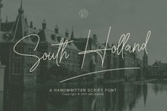 South Holland Signature font Product Image 1