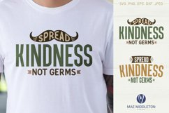 Spread Kindness SVG files, printables, sublimation Product Image 3