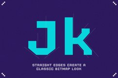 RETRO-86 - Cool Pixel Font Product Image 3