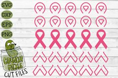 Breast Cancer Ribbon Repeating SVG File Product Image 2