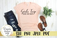 Girls Trip, Cheaper than therapy | Humor | SVG Cutting File Product Image 2