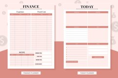 Finance Canva Editable Planner Product Image 4