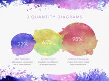 Watercolor Keynote Template Product Image 2
