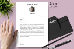 Modern Resume CV Template for Word & Pages Quinn Murray Product Image 5