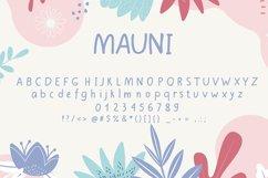 MAUNI Simple Handwritten WEB Font Product Image 3