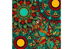 Boho flowers - mandala patterns Product Image 4