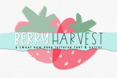 Berry Harvest Font & Extras Product Image 1