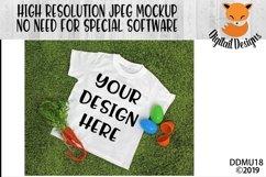 Easter Spring T-Shirt Mock Up Mockup Product Image 1