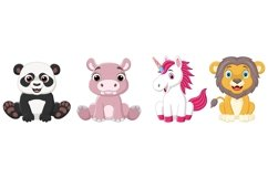 Cartoon Baby Animal Bundle Product Image 3