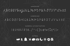 Tarantula   Spooky Creature Display Font Product Image 2