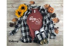 Fall Mockup | Bella Canvas 3001 cvc T-shirt | Heather Clay Product Image 1