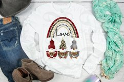 Gnomes Valentine Sublimation png Valentine Love Rainbow png Product Image 3