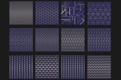Blue titanium Art Deco backgrounds Product Image 2