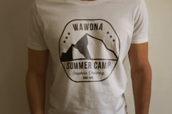 Summer Camp Logo Template, Retro California Badge SVG File Product Image 3