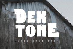 Dextone Typeface Product Image 1