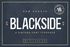 Blackside a Vintage Typeface Product Image 1
