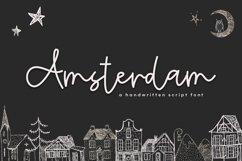Amsterdam - A Handwritten Script Font Product Image 1