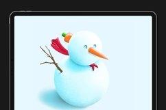Winter Wonders Brush Kit for Procreate 5 Product Image 3