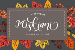 Miskiani Script Product Image 1