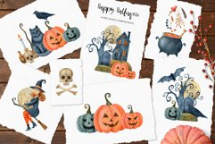 Happy Halloween watercolor set Product Image 4