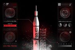 Futuristic UI Kit 200 design elements Product Image 4