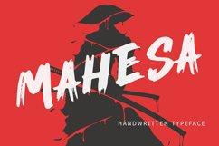 Mahesa Handwritten Brush Font Product Image 1