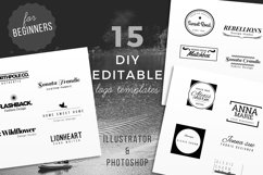 15 DIY Logo Template for Beginners Product Image 1