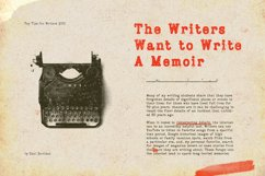 Bygonest - Old Typewriter Font Product Image 2