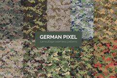 German Pixel Camouflage Patterns Product Image 1