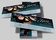 Jazz Concert Event Ticket Template Product Image 1