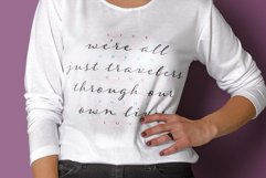 Were all just travelers quote design Product Image 1