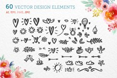 60 vector design elements Product Image 1
