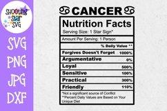 Zodiac Nutrition Facts SVG Bundle Product Image 3